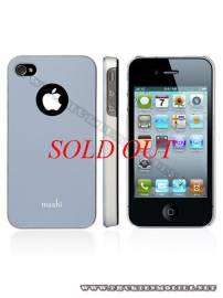 Phu kien iPhone - Ốp lưng iPhone 4 Moshi iGlaze 4 XT (Xanh)