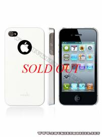 Phu kien iPhone - Ốp lưng iPhone 4 Moshi iGlaze 4 XT (Trắng)