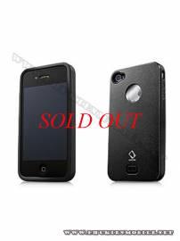 Phu kien iPhone - Ốp lưng iPhone 4 Capdase Alumor Metal Case (Đen)