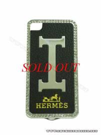 Phu kien iPhone - Ốp lưng iPhone 4 Hermes (Đen)