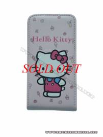 Phu kien iPhone - Bao da iPhone 4 Hello Kitty (Hồng nhạt)