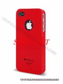 Phu kien iPhone - Ốp lưng iPhone 4 Melkco Formula Cover màu đỏ