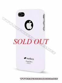 Phu kien iPhone - Ốp lưng iPhone 4 Melkco Formula Cover màu trắng