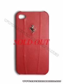 Phu kien iPhone - Ốp lưng iPhone 4 Ferrari Case màu đỏ