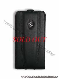 Phu kien iPhone - Bao da iPhone 4 Ferrari Case màu đen