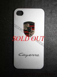 Phu kien iPhone - Ốp lưng iPhone 4 Porsche màu bạc