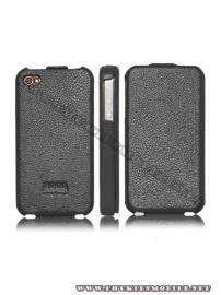 Phu kien iPhone - Bao da iPhone 4 Hoco Skin Case (Đen)