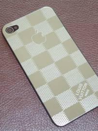 Phu kien iPhone - Lưng inox thời trang thay thế cho iPhone 4