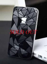 Phu kien iPhone - Miếng dán lứng 3D cho iPhone 4/4S Diamond
