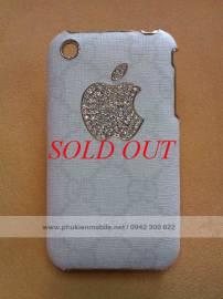 Phu kien iPhone - Ốp lưng cho iPhone 3G / 3GS đính đá Gucci