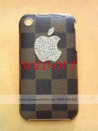 Phu kien iPhone - Ốp lưng cho iPhone 3G / 3GS đính đá LV
