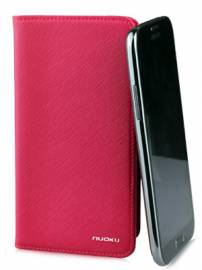 Phu kien iPhone - Bao da Samsung Galaxy Note 2 N7100 mở ngang Nuoku Book