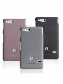 Phu kien iPhone - Ốp lưng Sony Xperia Go ST27i Rock QuickSand