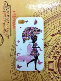 Phu kien iPhone - Ốp lưng thời trang  teen iPhone 4 / 4S Fashion