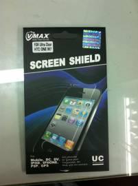 Phu kien iPhone - Miếng dán màn hình siêu trong cho HTC One M7 Vmax