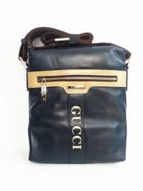 Phu kien iPhone - Túi đựng iPad đeo chéo da thật thời trang cao cấp Gucci