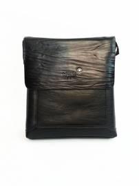 Phu kien iPhone - Túi xách da đựng iPad đeo chéo Mont Blanc kiểu 19