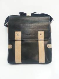 Phu kien iPhone - Túi xách da đựng iPad đeo chéo Salvatore Ferragamo kiểu 15