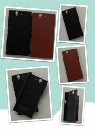 Phu kien iPhone - Ốp lưng Sony Xperia Z Lt36i da Leather JZZS