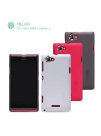 Phu kien iPhone - Ốp lưng  Sony Xperia L S36H Nillkin
