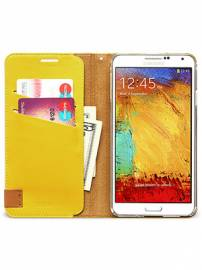 Phu kien iPhone - Bao da Samsung Galaxy Note 3 N9000 mở ngang Zenus Signature Tag Diary