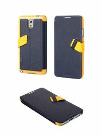 Phu kien iPhone - Bao da Samsung Galaxy Note 3 N9000 Baseus Faith Leather Case