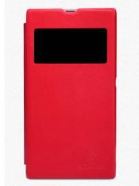 Phu kien iPhone - Bao da Xperia Z1 S View chính hãng Nillkin